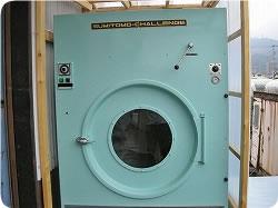 仕上げには別の乾燥機を使用します。